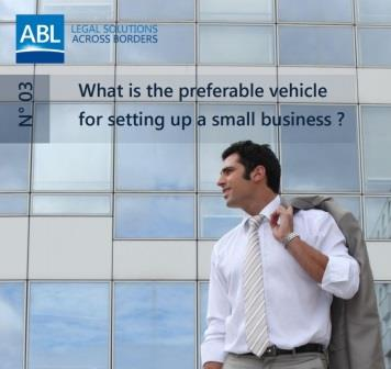 What is the Preferable Vehicle for Setting Up a Small Business?